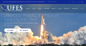 United Final Expense services website